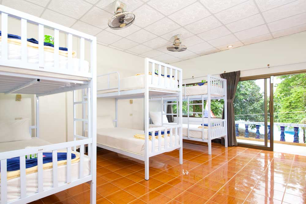Dormitory hostel in Sairee