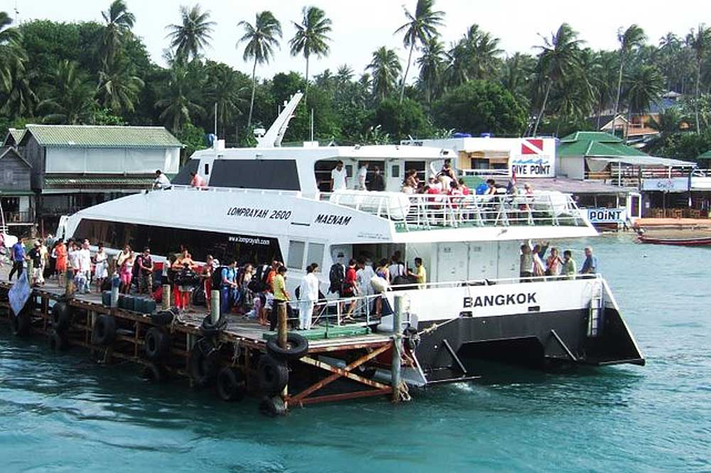 Lomprayah ferry to Ko Tao